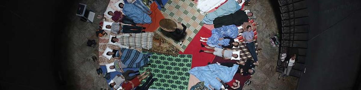 Lichen au CIAP Vassivière le 10/08 – présentation de l'édition interactive et voyage au tambour