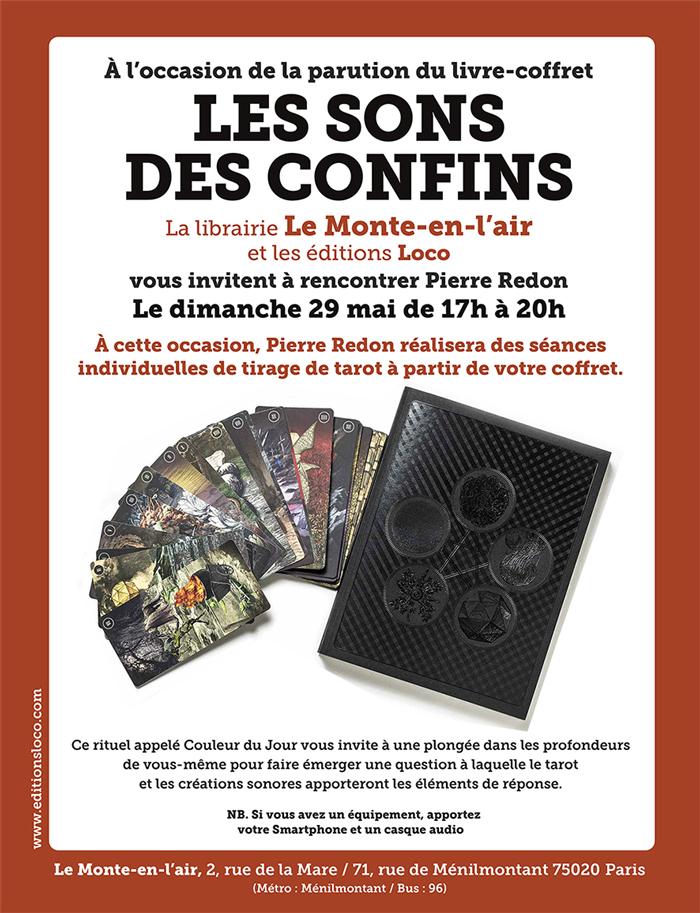 Pierre Redon - Les Sons des Confins - Loco - Monte-en-l'air